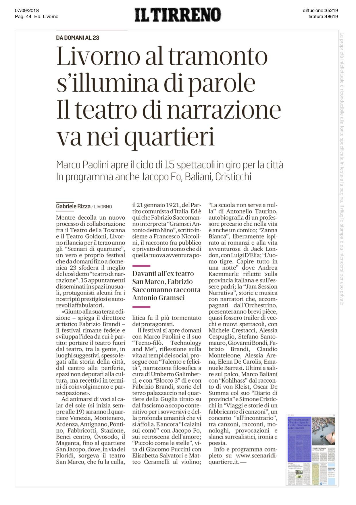 20180907_Il Tirreno Livorno 1