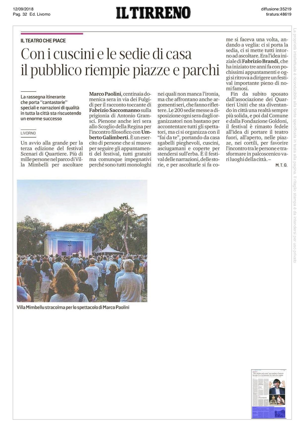 20180912_Il Tirreno Livorno